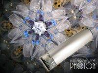 『誕生石の万華鏡』 オイル万華鏡   4月 水晶(クリスタル)
