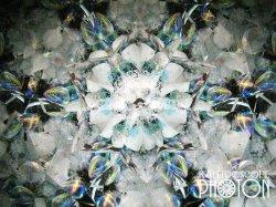画像2:  『誕生石の万華鏡』 オイル万華鏡   6月 ムーンストーン