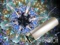 『誕生石の万華鏡』 オイル万華鏡   12月 ターコイズ