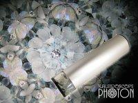 『誕生石の万華鏡』 オイル万華鏡  3月 アクアマリン