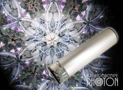 画像1:  『誕生石の万華鏡』 オイル万華鏡   6月 ムーンストーン